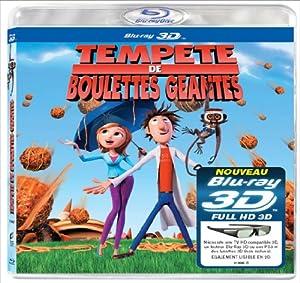 Tempête de boulettes géantes 3D - Blu-ray 3D active