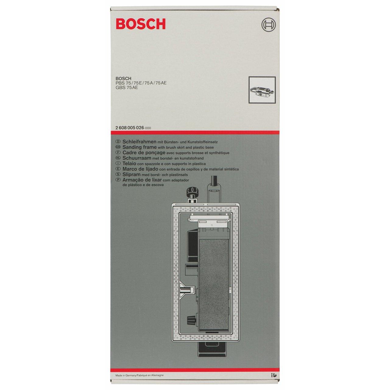 Bosch 2608005026 Schleifr.Bürsteneins.f.PBS+GBS 75  BaumarktKundenbewertung: