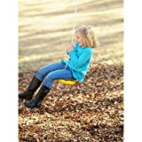 Adventure Parks Disc Seat Tree Swing Yellow