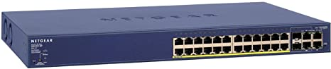 Netgear FS728TP-100EUS Smart Switch Prosafe PoE 24+4 Ports Web Manageable Niveau 2
