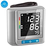 MIBEST Wrist Blood Pressure Monitor with Talking Function - BP Cuff Meter with Display - Blood Pressure Machine up 5.3