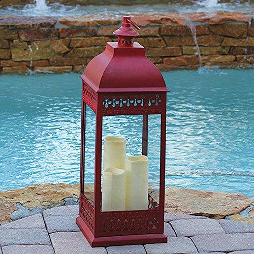 San Nicola Triple Led Candle Lantern