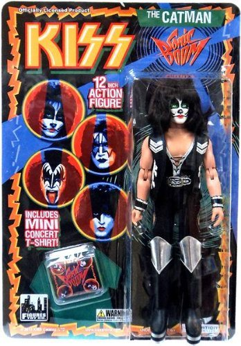 KISS 12 Inch Action Figure Series 3 Sonic Boom - The Catman by Figures Toy Company