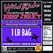 Wild Ride Beef Jerky Cowboy Strips, Teriyaki, 16-Ounce Bag