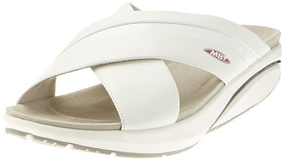 Mbt Sandalen Weiß