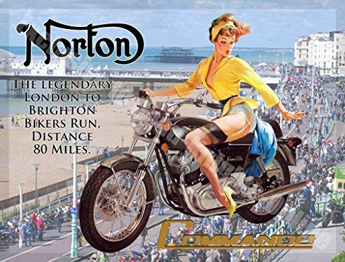 norton-commando-caffe-incrocio-a-vogatore-moto-londra-to-brighton-garage-vintage-metallo-targa-da-pa