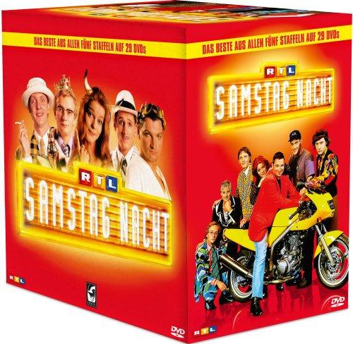 RTL Samstag Nacht - Box/Das Beste aus Staffel 1-5 [29 DVDs]