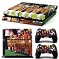 GoldenDeal PS4 Console and DualShock 4 Controller Skin Set - Sexy Girls Soccer - PlayStation 4 Vinyl