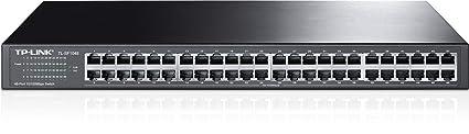 TP-LINK TL-SF1048 Switch 48 Ports 10/100Mbps (Rackable, Boîtier Métal)