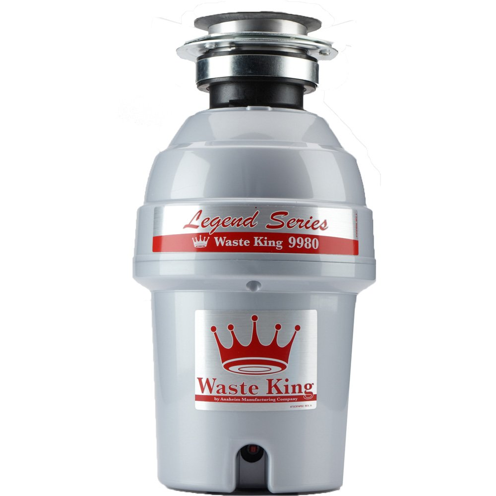 Waste King 9980 Legend Series 1 HP Continuous Feed Operation Garbage Disposer