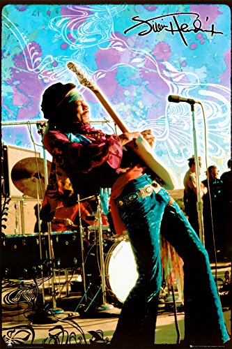 GB occhio 61 x 91.5 cm Poster Jimi Hendrix live Maxi