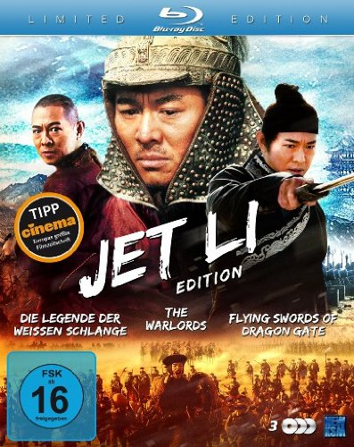 Jet Li Edition (Die Legende der Weißen Schlange / The Warlords / Flying Swords of Dragon Gate) (3 Blu-rays) [Blu-ray] [Collector's Edition]