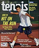 Pete Sampras Tennis Signed 1995 Tennis Magazine #I85662 - PSA/DNA Certified - Autographed Tennis Magazines