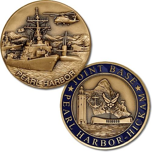 Joint Base Pearl Harbor-Hickman Challenge Coin