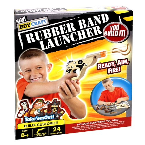 Boy Craft Rubber Band Launcher Kit - 1