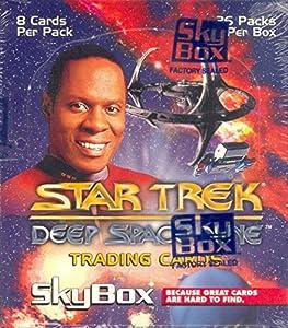 Star Trek Deep Space 9 1994 Skybox Trading Card Box