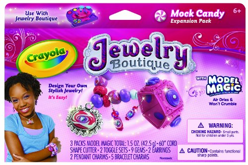 Crayola Model Magic Jewelry Boutique Mock Candy Expansion Pack front-978519