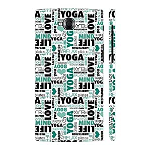 Enthopia Designer Hardshell Case Yoga Meditate Relax Back Cover for LG Pro Lite