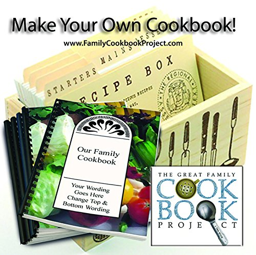 Family Cookbook Project Software and 5 Printed Custom Cookbooks (Make Cookbook compare prices)