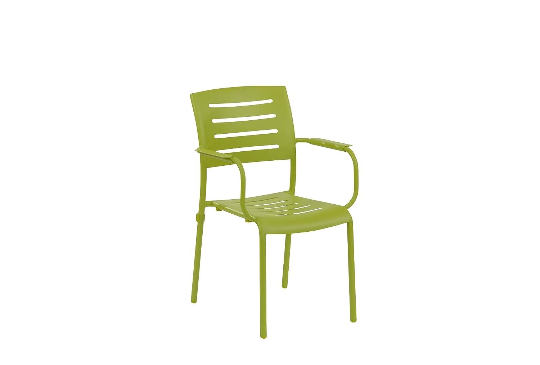 Stapelstuhl Ronda Farbe: Grün günstig