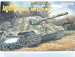 German Jagd Tiger Sd.Kfz.186 Tank 1/35 Scale By Dragon