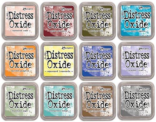 Tim Holtz Distress Oxide Ink January 2018 - 12 Item Bundle
