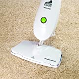Morphy Richards 720501 Multi-Floors Steam Mop with Microfibre Pads, 1400 Watt - White/ Green