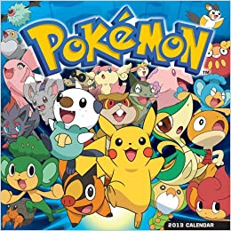 Pokemon 2013 Square 12x12 Wall: Amazon.es: Inc. Browntrout