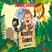 Monkey Games: Jungle Stories Audiobook by Amarjit Atwal Narrated by Moira Healy