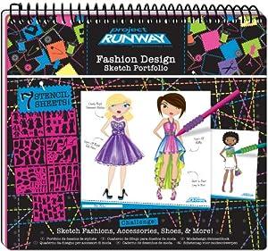 Project Runway Fashion Design Sketch Portfolio Models