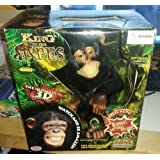 """11"""" Electronic King Of The Apes """"The Chimpanzee"""" Ultimate In 3 D Motion"""