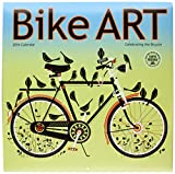 Bike Art 2016 Wall Calendar by Amber Lotus