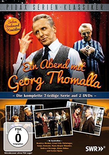 Ein Abend mit Georg Thomalla / Die komplette 7-teilige Serie (Pidax Serien-Klassiker) [2 DVDs]