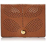 Orla Kiely Sixties Stem Punched Leather Card Holder