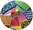 Assorted System 96 Dichroic on BLACK Glass Pieces - 96coe - 4oz