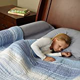 Toddler Bed Rail Bumper / Foam Safety Guard for Bed - Side Rail with Waterproof Cover - Pillow Pad for Toddlers, Kids