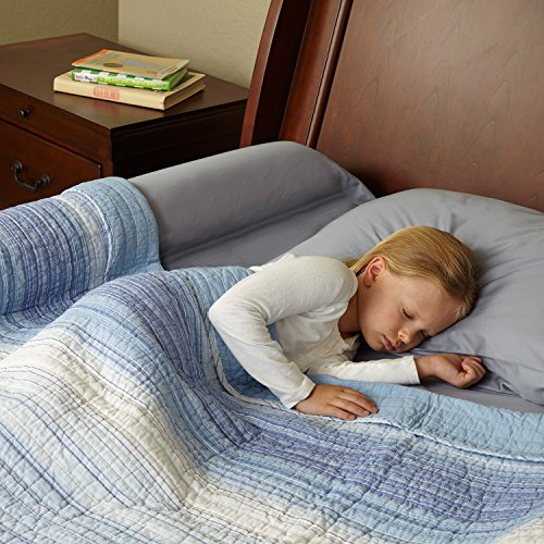 Toddler Bed Rail Bumper / Foam Safety Guard for Bed - Side Rail with Waterproof Cover - Pillow Pad for Toddlers, Kids (Bed Rail Replacement Cover compare prices)