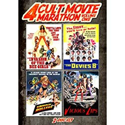 Cult Movie Marathon (Unholy Rollers, Invasion of the Bee Girls, Devil's Eight & Vicious Lips)