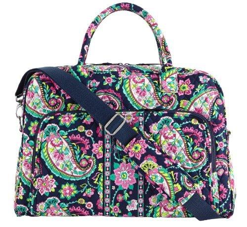 vera-bradley-weekender-satchel-petal-paisley