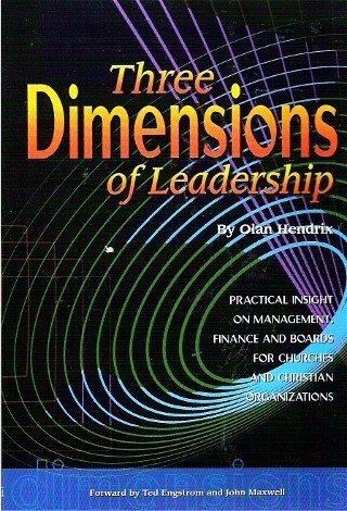 Three Dimensions of Leadership