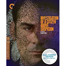 Investigation of a Citizen Above Suspicion (Criterion Collection) BLU-RAY/DVD DUAL FORMAT EDITION