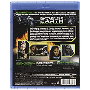 Battlefield Earth-Kampf Um die Erde (Blu-Ray) [Import allemand]
