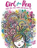 Girl Plus Pen: Doodle, Draw, Color, and Express Your Individual Style