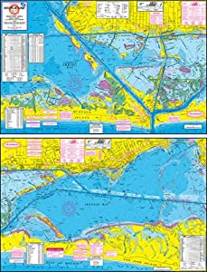 Hook-N-Line Map F130 Rockport Area Wade Fishing by Hook-N-Line Map