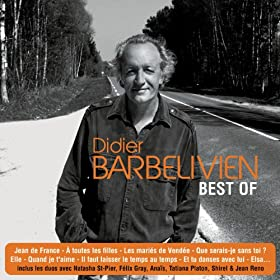 Best Of 3 CD - Didier Barbelivien