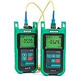 Optic Fiber Power Meter KomShine KPM-35 Fiber Optic FTTH Maintenance + Optical Fiber Singlemode Light Source KLS-35-S (Color: Green, Tamaño: Medium)