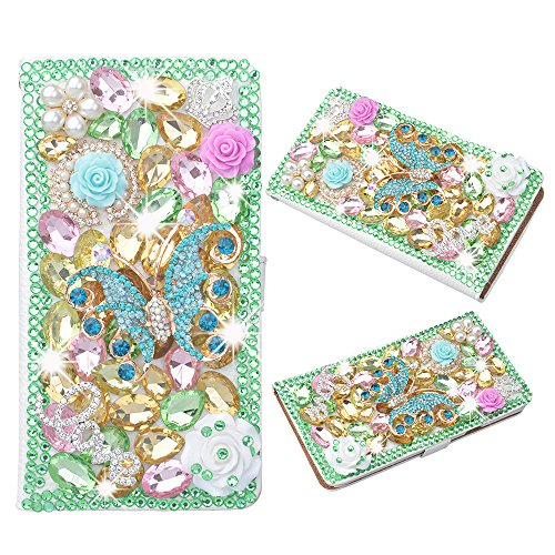 evtechtm-butterfly-colorful-rhinestone-bling-crystal-glitter-book-style-folio-pu-leather-wallet-case
