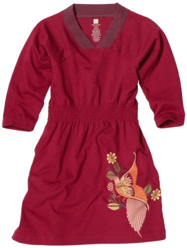 Tea Collection Girls 2-6x Amate Aves Raglan Dress