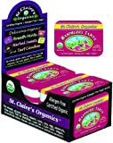 St. Claires Organics® Raspberry Tarts, 1.5 oz Tin (Pack of 6)