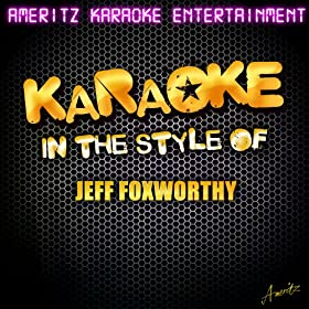 Twas the Night After Christmas (In the Style of Jeff Foxworthy) [Karaoke Version]
